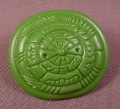 TMNT Samurai Shield Accessory, 1990 Leo The Sewer Samurai Action Figure
