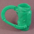 TMNT Green Golf Bag Accessory, 1989 Casey Jones Action Figure, Mutant Ninja Turtles