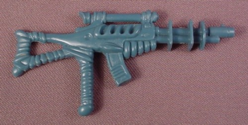 TMNT Stunlaser Rifle Weapon Accessory, 1989 General Traag Action Figure