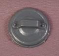 TMNT Garbage Can Lid Shield Accessory, 1988 Bebop Action Figure, Ninja Turtles
