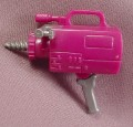 Tmnt Camera Shell Drill Weapon Accessory, 1992 Mutatin' Bebop Action Figure