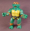 Tmnt Toon Mike Action Figure, 1992 Playmates, Toon Turtles Series, Ninja Turtles