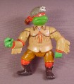 Tmnt Sewer Scout Raph Action Figure, 1992 Playmates, Wacky Wild West Turtles Series