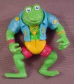 TMNT Genghis Frog Action Figure, 1989 Playmates, Teenage Mutant Ninja Turtles