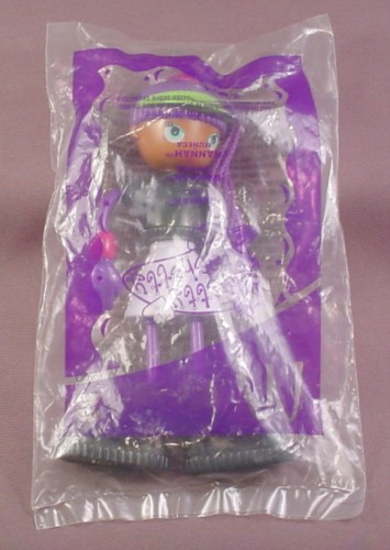 Mcdonalds 2003 Betty Spaghetti Hannah Doll Toy Sealed In Original Bag, #2