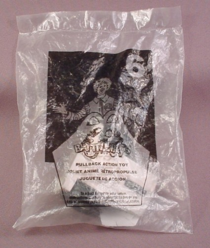 Mcdonalds 2002 Battlebots #6 Pullback Action Toy Sealed In Original Bag