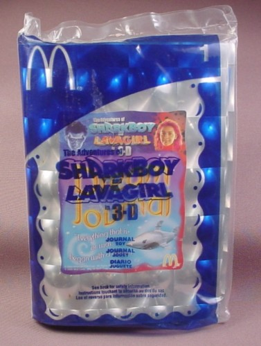 Sharkboy And Lavagirl Mcdonald S Toys : Mcdonalds sharkboy lava girl journal toy sealed