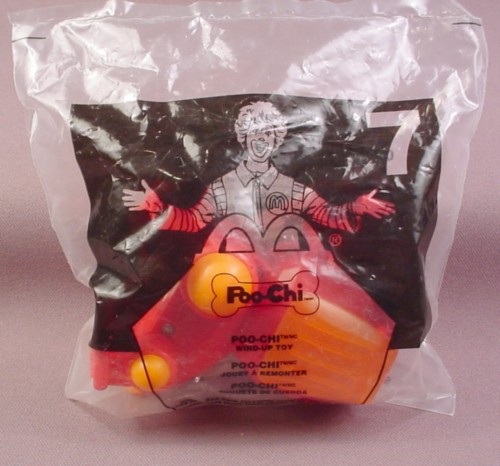 Mcdonalds 2002 Rob-Chi Toy, Sealed In Original Bag, #7