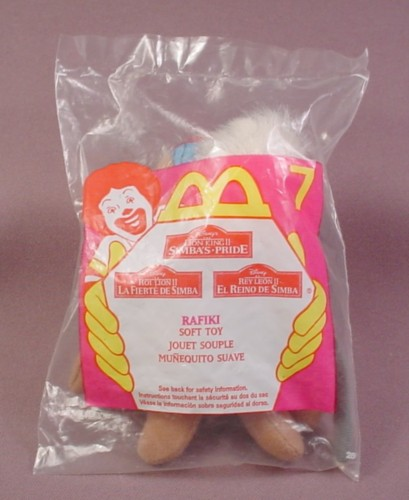 Mcdonalds 1998 Disney Lion King Ii Simba's Pride Rafiki Toy, Sealed, #7