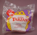 Mcdonalds 1998 Disney Tarzan Clayton With Net Toy, Sealed In Original Bag, #7