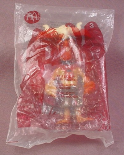 Mcdonalds 2005 Tak Tlaloc Figure Toy, Sealed In Original Bag, #3