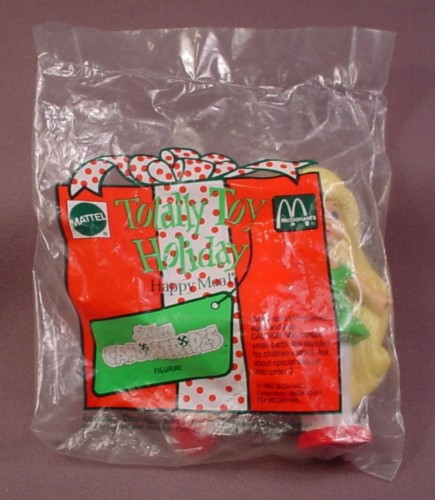Mcdonalds 1993 Total Toy Holiday Lil Miss Candistripes Toy, Sealed