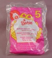 Mcdonalds 1996 Blossom Beauty Barbie Toy, Sealed In Original Bag, #5