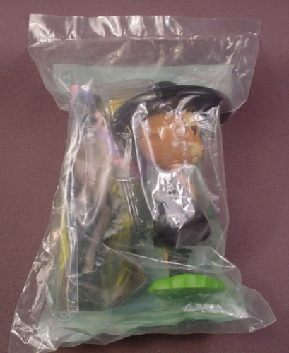 Burger King 2003 Shrek 2 Puss In Boots Nodder Toy, Sealed In Original Bag