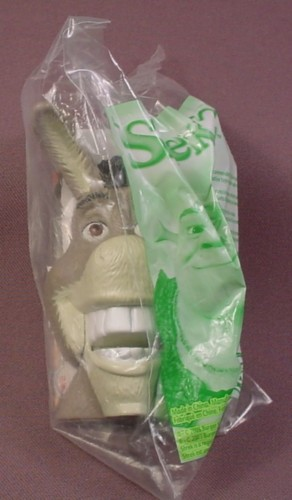 Burger King 2003 Shrek 2 Talking Donkey Toy, Sealed In Original Bag