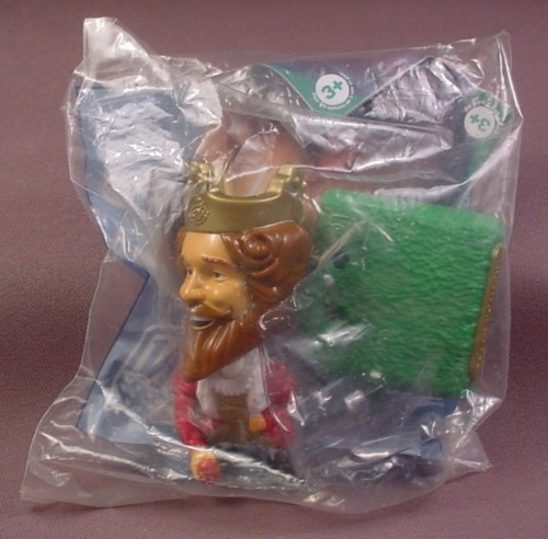 Burger King 2006 Super Bowl Center Hiking Ball Bobblehead Toy, Sealed