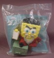 Burger King 2007 Spongebob Atlantis Squarepants Jones Locker Toy, Sealed