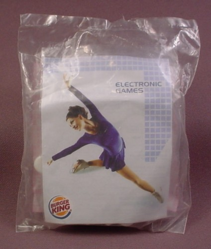 Burger King 2005 Electronic Figure Skating Toy, Sealed In Original Bag