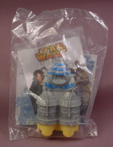 Burger King 2005 Star Wars Pod Racer Toy, Sealed In Original Bag