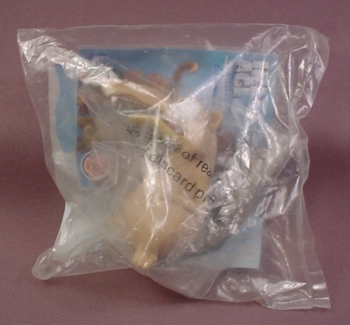 Burger King 2005 Ice Age 2 Chattering Scrat Toy, Sealed In Original Bag