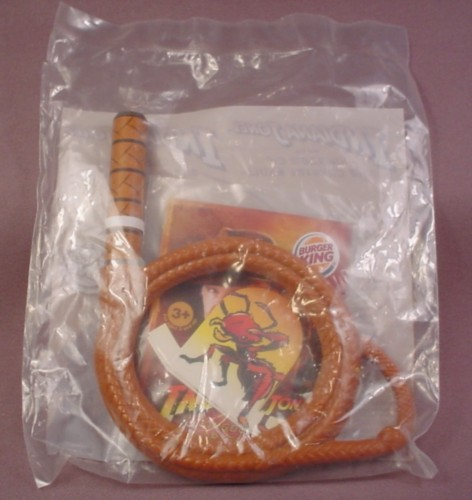 Burger King 2008 Indiana Jones Whip Toy, Sealed In Original Bag