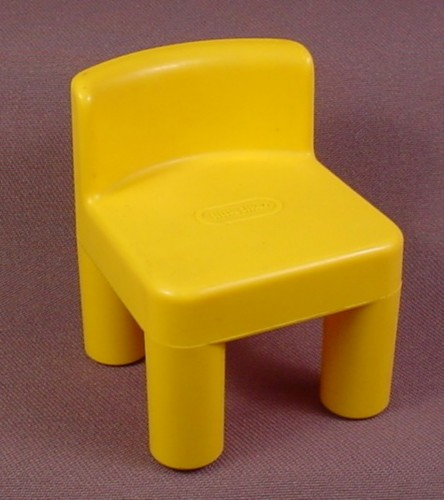 Little Tikes Original Dollhouse Dark Yellow Kitchen Chair & Little Tikes Original Dollhouse Dark Yellow Kitchen Chair - RONS ...