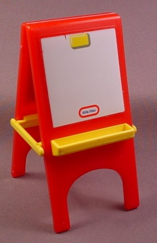Little Tikes Dollhouse Red & White Easel