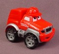 Tonka Lil Chuck Red Cargo Truck With Red Hat, 2000 Maisto Hasbro