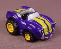 Tonka Lil Chuck Purple & Yellow Sports Car, 2003 Maisto Hasbro