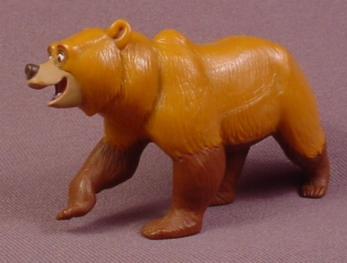 "Disney Brother Bear Kenai Bear PVC Figure, 2"" Tall, 3 1/2"" Long"