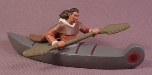 "Disney Brother Bear Sitka Human Paddling A Kayak PVC Figure, 5"" Long"