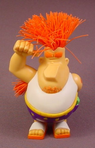 "Koosh Ball Kooper The Super PVC Figure, 4 1/2"" Tall, 2004 Hasbro"