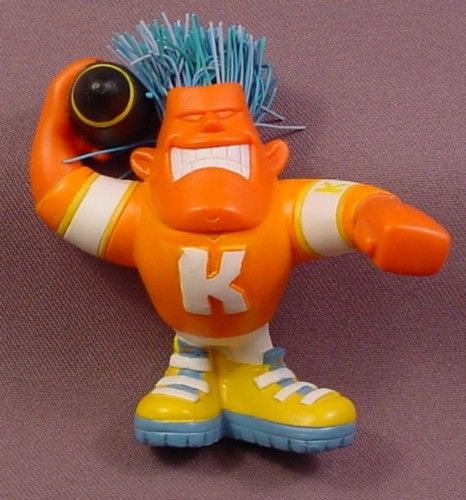 "Koosh Ball Karsen The Quarterback PVC Figure, 3 1/2"" Tall, 2004 Hasbro"