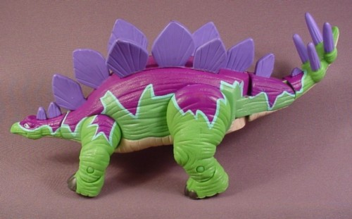 "Fisher Price Imaginext Spike The Stegosaurus Dinosaur, 10"" Long"