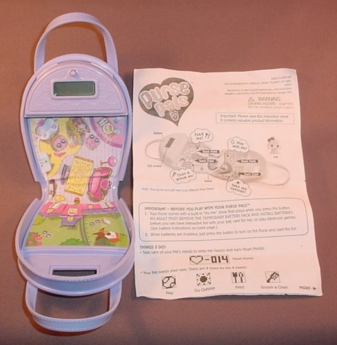 Purse Pals Playset With Instructions Does Not Come Any Animal Pals