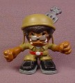 Tech Deck Dude Dr. Digit P.I., #007, From Special Ops Dude Rides Set, 2005 X-Concepts