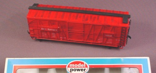 Model Power Ho Scale Great Northern Cattle Livestock Car 56108, Model 631