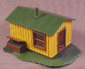 Ho Scale Small Track Side Shed Building, Railroad Train