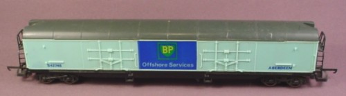 Lima Oo Scale Gauge Bp Offshore Services Freight Car 542746 Aberdeen, Railroad Train