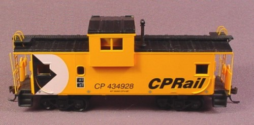 Oo Scale Gauge Cp Rail Caboose Cp 434928 Canadian Pacific Railway, Railroad Train