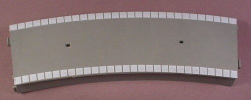 Oo Scale Gauge Hornby Tri-Ang R462 Curved Platform, Gray Top, Light Gray Trim