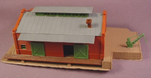 N Scale Gauge Pola Freight Depot Building, Railroad Train
