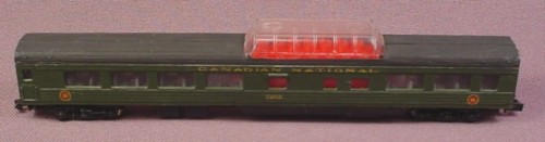 N Scale Gauge Con Cor Cn Canadian National Smoothside Dome Passenger Car