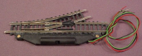 N Scale Gauge Roco 24 Degree Left Switch Track, Railroad Train