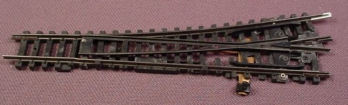 N Scale Gauge Arnold Manual Left Switch Track, Railroad Train