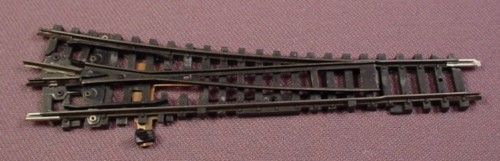 N Scale Gauge Arnold Manual Right Switch Track, Railroad Train