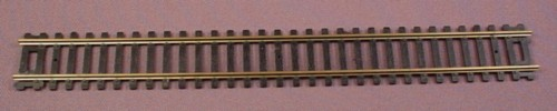 "Ho Scale Gauge AHM Brass 9"" Straight Track, Made In Italy, Railroad Train"
