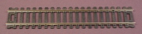 "Ho Scale Gauge Atlas 6"" Straight Snap Track, Railroad Train"