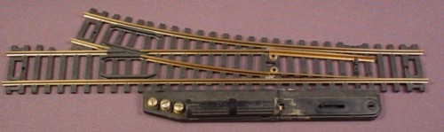 Ho Scale Gauge Tyco Brass Right Hand Switch Track #911-1, Railroad Train