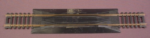 "Ho Scale Gauge Casadio Brass 9"" Rerailer Track, Made In Italy, Railroad Train"